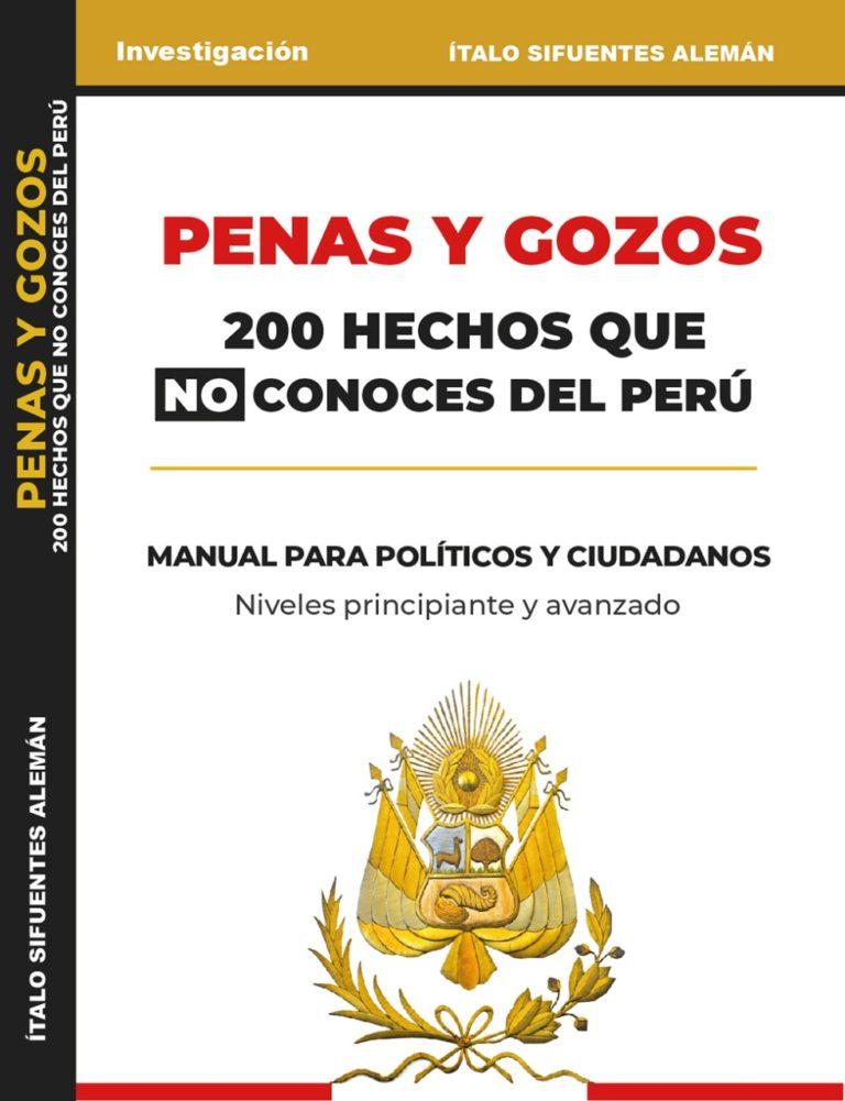 Libro peruano alcanzó estar entre los  cinco primeros del ranking mundial de obras de historia en español según Amazon.com